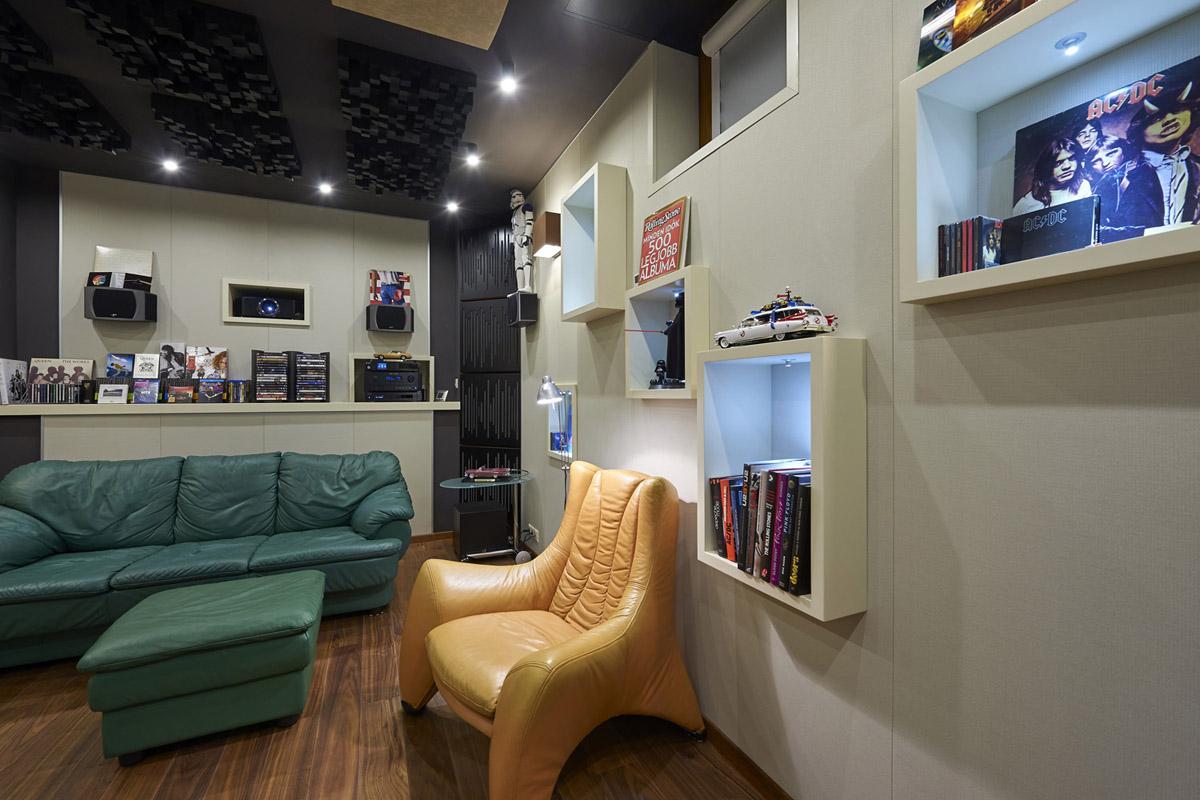 moziszoba kivitelezés, tervezés, házimozi szoba, moziszoba építés