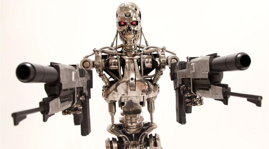 Új filmes relikviánk: Sideshow Terminator T-800